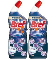 Bref 10x Effect Protection Shield Ocean Żel do WC 2 x 700ml