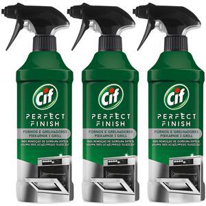 Cif Perfect Finish do Czyszczenia Piekarnika i Grilla Spray 3 x 435ml