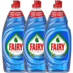 Fairy Extra Higiene Eucalipto Płyn do Naczyń 3 x 500ml SF