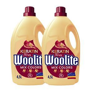 Woolite Mix Colors Płyn do Prania Kolorowego 150pr 2 x 4,5L