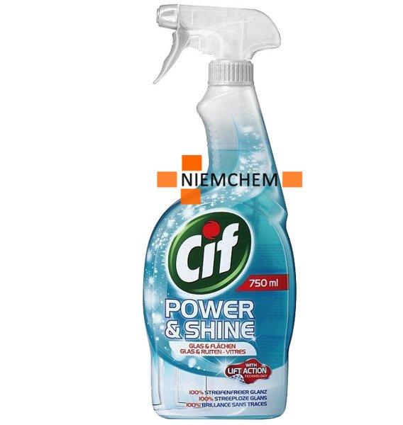 Cif Power Shine Do łazienki Kuchni Szyb 6 X 750ml De