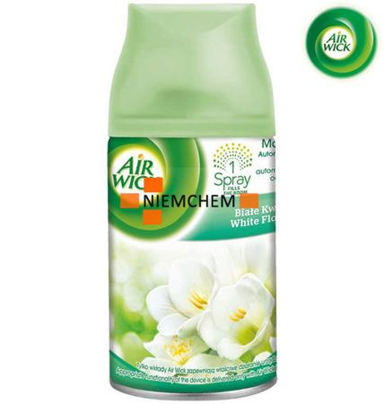 Air Wick Freshmatic Białe Kwiaty Odświeżacz Zapas Wkład 250ml