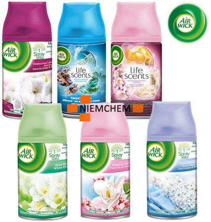 Air Wick Freshmatic Zapas Wkład 6 x 250ml Mega Mix