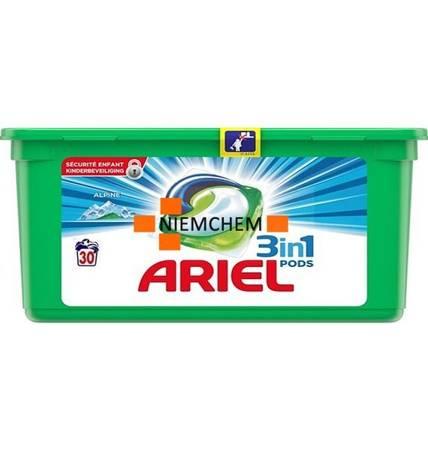 Ariel 3in1 Pods Alpine Kapsułki do Prania 30szt NL
