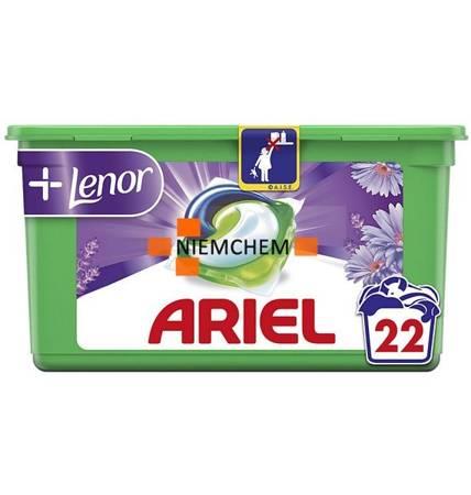 Ariel 3in1 Pods Lenor Kapsułki do Prania 22szt FR