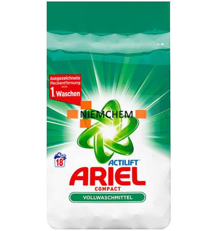 Ariel Actilift Compact Proszek do Prania Białego 18pr DE