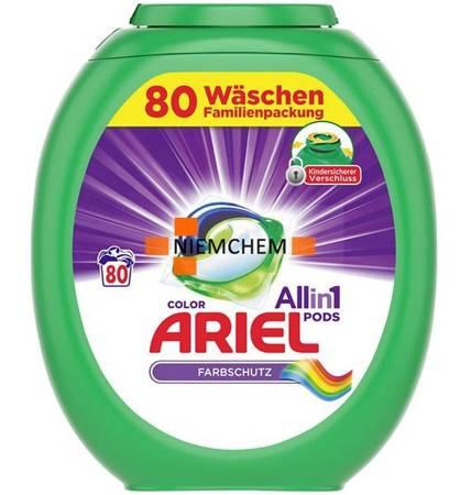 Ariel Color All-in-1 Kapsułki do Prania Kolor 80szt DE