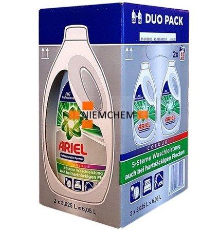 Ariel PRO Color Żel Prania Kolor 2 x 55pr 6,05L DE
