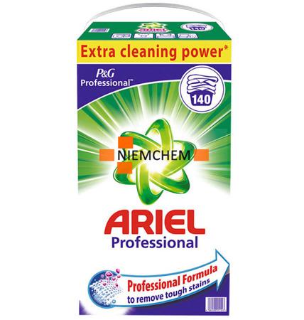 Ariel Regular Proszek do Prania Białego 140pr 9,1kg DE