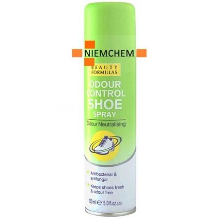 Beauty Formulas Neutralizujący Spray do Butów Odświeżacz 150ml UK WYPRZEDAŻ