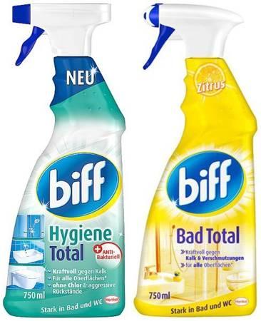 Biff Total Hygiene do Czyszczenia Łazienek 1,5L DE