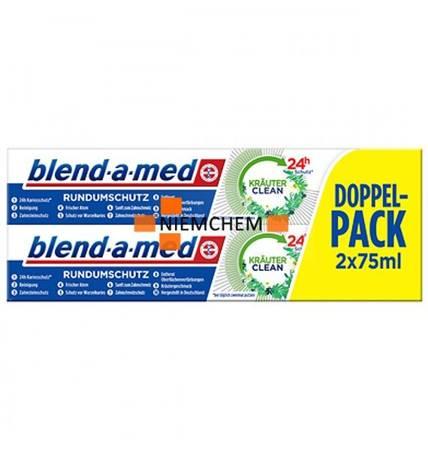 Blend-a-Med Krauter Clean Ziołowa Pasta 2x 75ml DE