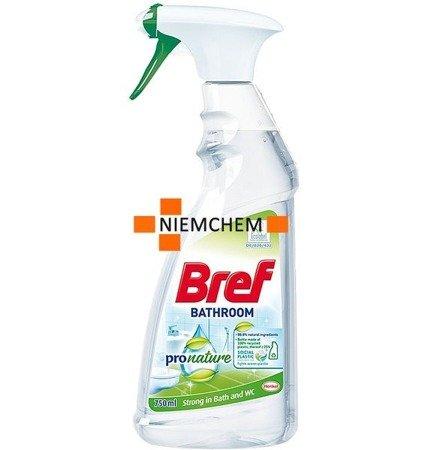 Bref Bathroom Pro Nature Spray do Czyszczenia Łazienki 750ml