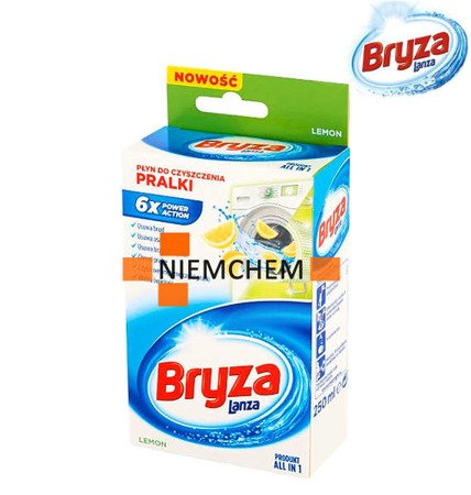 Bryza Lanza Lemon Cytrynowy Płyn do Czyszczenia Pralki 250ml WYPRZEDAŻ
