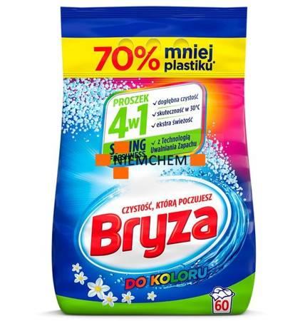 Bryza Spring Freshness 4w1 do Koloru Proszek do Prania 60pr 4,5kg