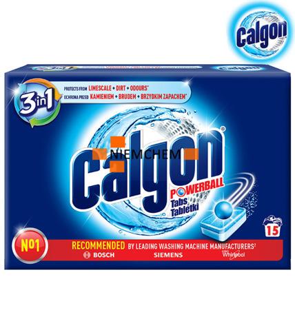 Calgon 3w1 Tabletki Odkamieniacz do Pralki 15 szt