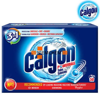 Calgon 3w1 Tabletki Odkamieniacz do Pralki 30 szt