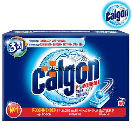 Calgon 3w1 Tabletki Odkamieniacz do Pralki 30 szt  WYPRZEDAŻ