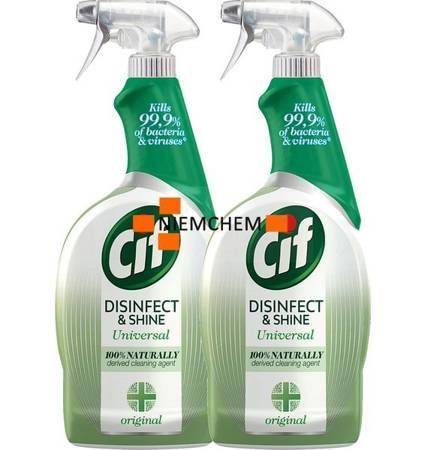 Cif Disinfect & Shine Original Spray Antybakteryjny 2 x 750ml
