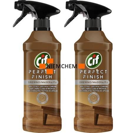 Cif Perfect Finish Drewno Spray do Czyszczenia 2 x 435ml