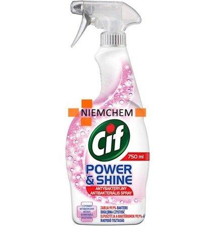 Cif Power&Shine Antybakteryjny Spray 750ml