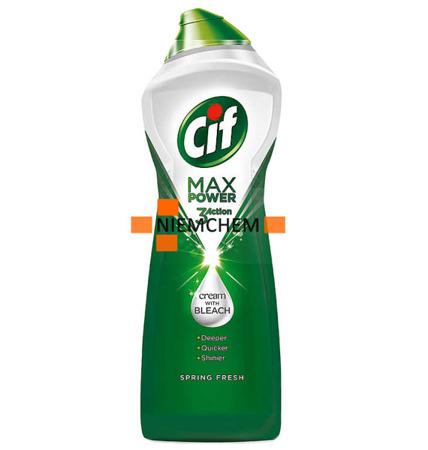 Cif Spring Fresh Mleczko z Wybielaczem 1001g Max Power
