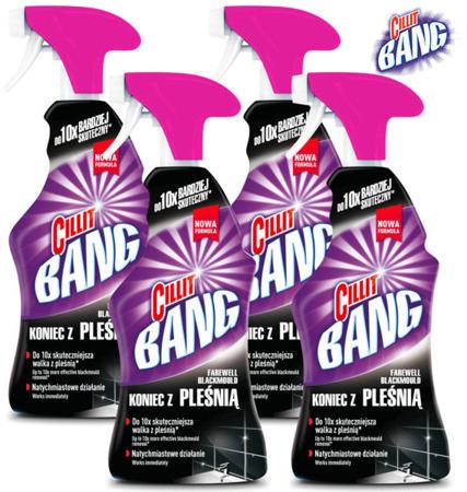 Cillit Bang Koniec z Pleśnią Spray 4 x 750ml