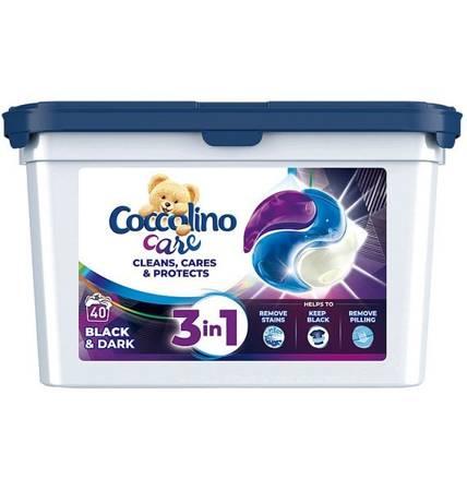 Coccolino Care Black Kapsułki Prania Czarne 40szt