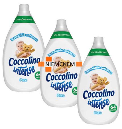 Coccolino Intense Pure Płyn do Płukania 3 x 960ml 192pr