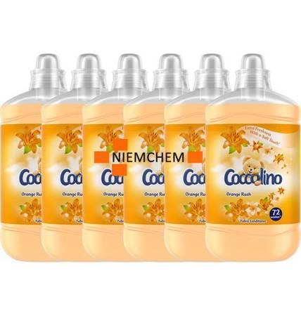 Coccolino Orange Rush Płyn do Płukania 432pr 6 x 1,8L