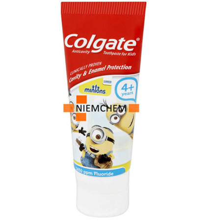 Colgate Minionki Pasta do Zębów Dzieci 4+ 50ml UK