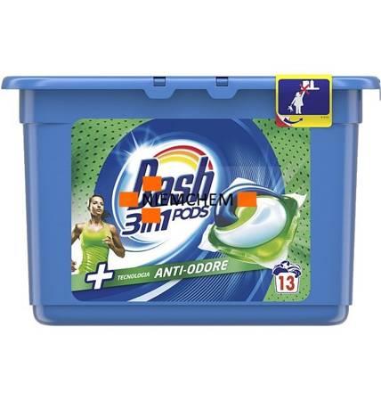 Dash All-in-1 Pods Anti-Odore Kapsułki do Prania 13szt IT