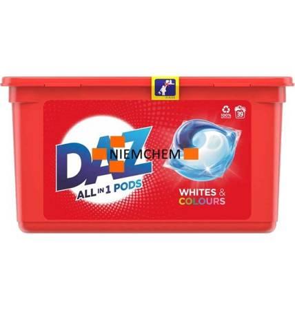 Daz Whites & Colours Kapsułki do Prania 39szt UK