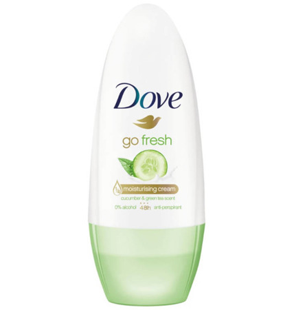 Dove Go Fresh Ogórek i Zielona Herbata Dezodorant Roll On 50ml UK