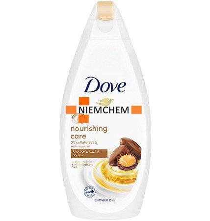 Dove Nourishing Care Oil Żel pod Prysznic 500ml XL