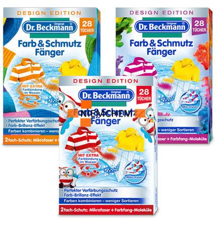 Dr Beckmann Chusteczki Wyłapujące Kolor i Brud z Prania 28szt DE