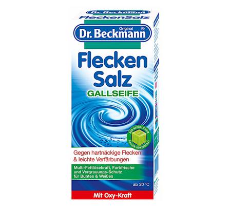 Dr. Beckmann Flecken Salz Sól Odplamiacz 500g DE
