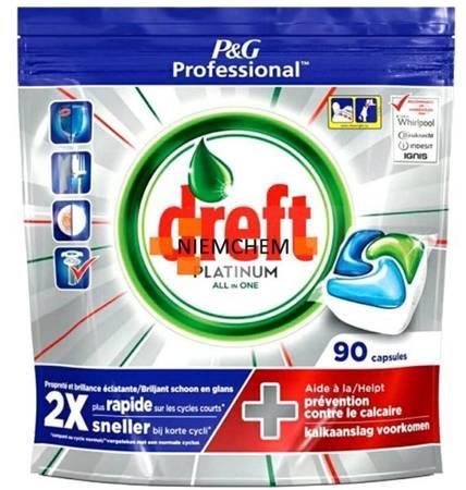 Dreft Platinum Original Tabletki do Zmywarki 90szt BE
