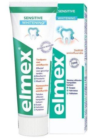 Elmex Sensitive WHITENING Pasta do Zębów 75ml NL