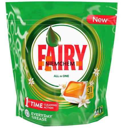 Fairy All in 1 Orange Tabletki do Zmywarki 31szt SE