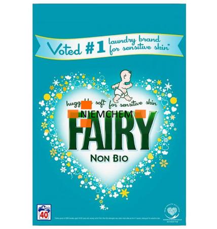 Fairy Non Bio Sensitive Proszek do Prania 40pr 2600g UK