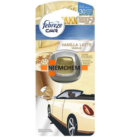 Febreze Ambi Pur Car Vanilla Latte Odświeżacz 30 dni DE WYPRZEDAŻ