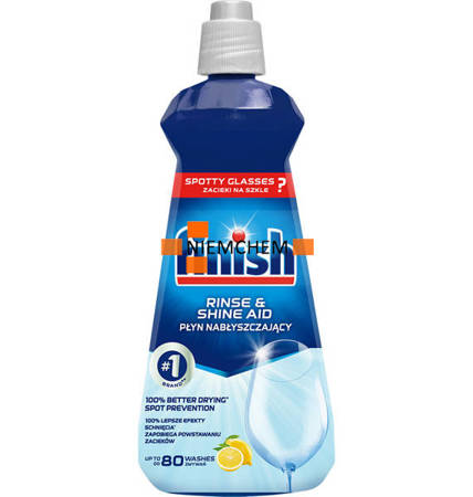 Finish Nabłyszczacz do Zmywarki 400ml Lemon