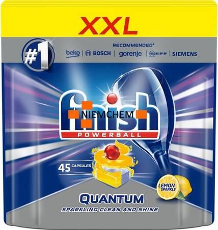 Finish Quantum Lemon Cytrynowe Tabletki do Zmywarki 45szt
