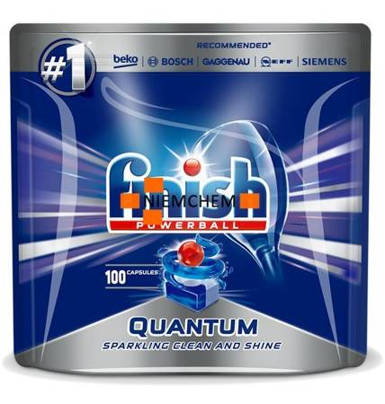 Finish Quantum Tabletki do Zmywarki 100szt XL PL