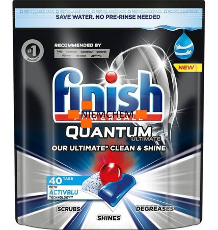 Finish Quantum Ultimate Kapsułki do Zmywarki 40szt