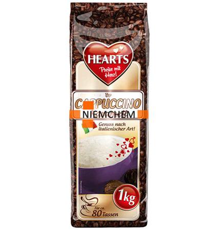 Hearts Kawa Cappuccino Karmel Smakowe 1kg XXL DE