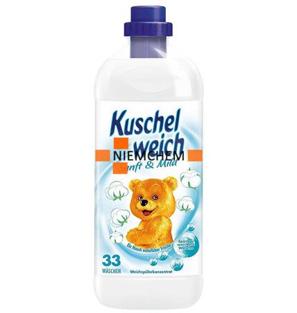 Kuschelweich Sensitive Biały Płyn do Płukania 1L 34pr DE
