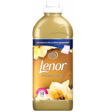 Lenor Goldene Orchidee Płyn do Płukania 58pr 1,74L DE