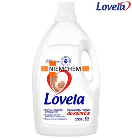 Lovela Mleczko do Prania Kolor dla Dzieci i Niemowląt 3L